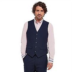 Joe Browns - Navy sensational stripe waistcoat