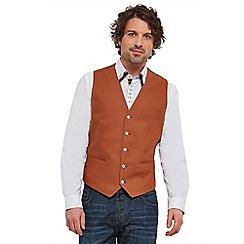 Joe Browns - Dark orange well turned out waistcoat