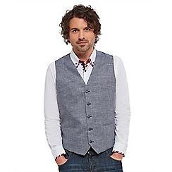Joe Browns - Grey lively linen mix waistcoat