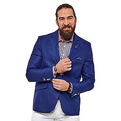 Joe Browns - Royal blue plain 'superb summer' regular fit blazer