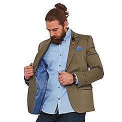Joe Browns - Light olive plain 'snappy' regular fit blazer