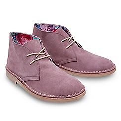 Joe Browns - Lilac suede 'Oasis' desert boots