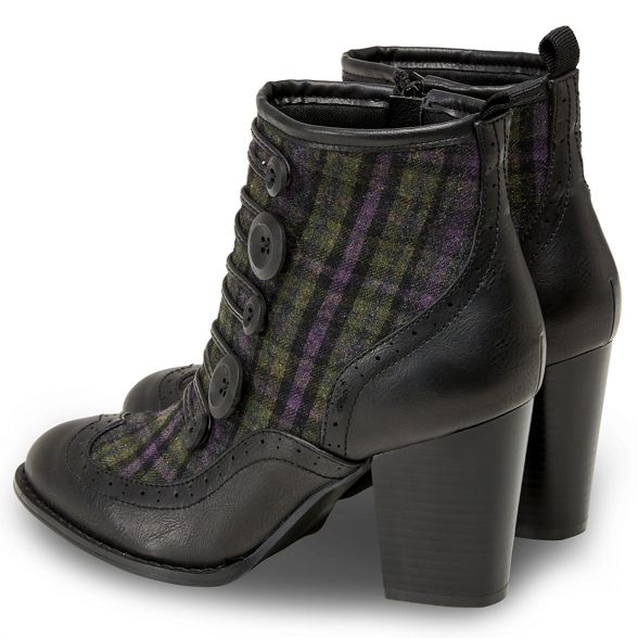 high ankle On heel block Browns Multicoloured 'Twist Tweed' Joe boots AqHCOwxX