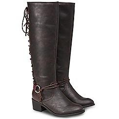 356df827131de8 Joe Browns - Brown  Simply Stylish  mid block heel knee high boots