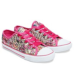 Joe Browns - Multi coloured canvas 'Carnival' trainers