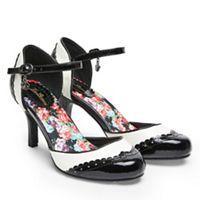 Joe Browns - Multi coloured patent '42nd Street' high stiletto heel ankle  strap sandals