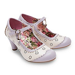 Joe Browns - Multi coloured 'Clara' high heel mary janes