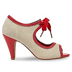 Joe Browns - Multi coloured 'Ambrosia' high heel peep toe shoes