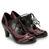 92c772d9976 Joe Browns - Black  Uniquely Vintage  high heel lace up shoes