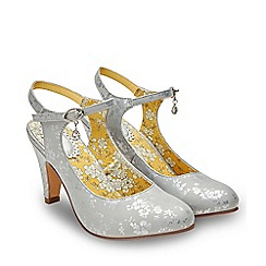 Joe Browns - Grey 'That Special Day' High Stiletto Mary Janes