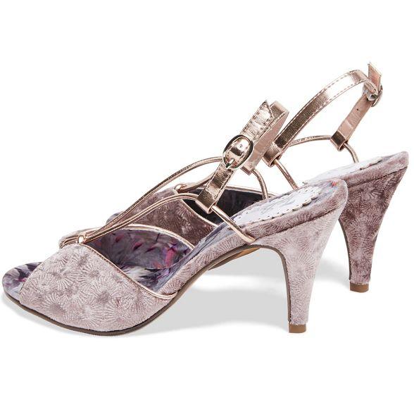 heel Joe 'Harlow' Browns Mauve slingbacks stiletto high XUxrT7Uqnw