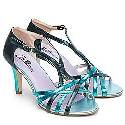 Joe Browns - Blue 'Valentino' high stiletto heel sandals