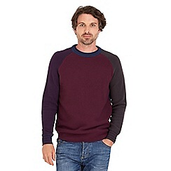 Joe Browns - Dark red get up and go knit