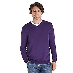 Joe Browns - Plum lucky layering jumper