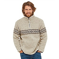 e7e907d498f7c5 Joe Browns - Beige funnel neck jumper
