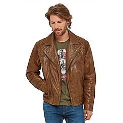 Men S Leather Jackets Debenhams
