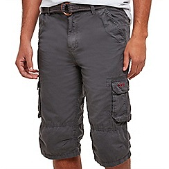 Joe Browns - Dark grey Azores shorts