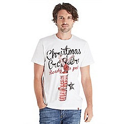 Joe Browns - White christmas cracker t-shirt