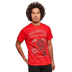 Joe Browns - Red bare knuckles t-shirt