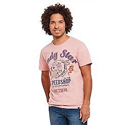 Joe Browns - Pale peach indystar t-shirt