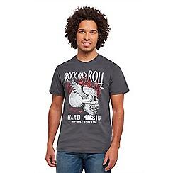 Joe Browns - Grey hard music t-shirt