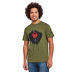 Joe Browns - Khaki vinyl nights t-shirt