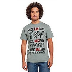 Joe Browns - Grey can must will t-shirt