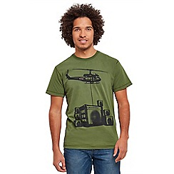 Joe Browns - Khaki time to rock t-shirt