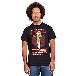 Joe Browns - Black boxing pin up t-shirt