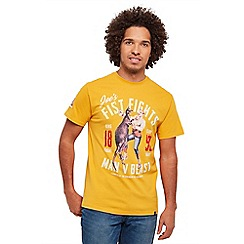 Joe Browns - Yellow who will win t-shirt
