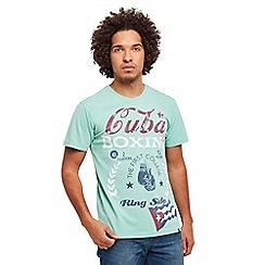 Joe Browns - Light green Cuba t-shirt