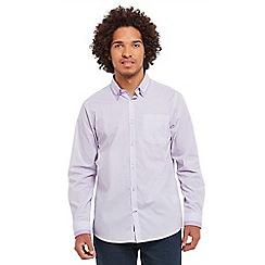 Joe Browns - Lilac quirky collar shirt