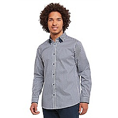Joe Browns - Blue sensational stripe shirt