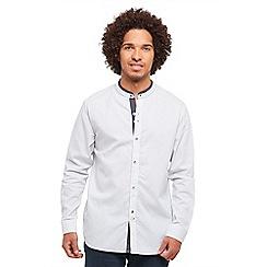 Joe Browns - White go getter grandad shirt
