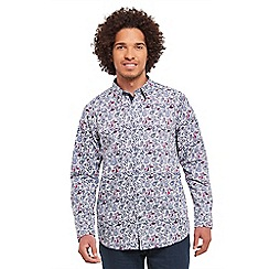 Joe Browns - Purple perfect paisley shirt