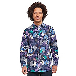 Joe Browns - Purple fun and funky floral shirt