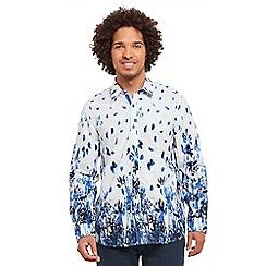 Joe Browns - Multi coloured border print shirt