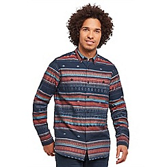 Joe Browns - Multi coloured abstract stripe shirt