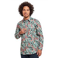 Joe Browns - Green fantastic floral shirt