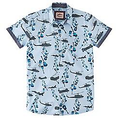 Joe Browns - Pale blue drop the sound shirt