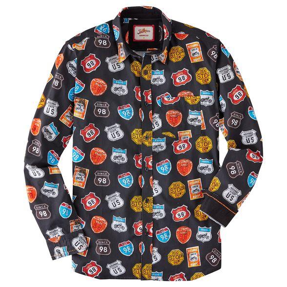 Joe road trip shirt Black Browns vTAavwxp