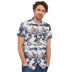 Joe Browns - Multi coloured flamingo print shirt