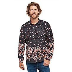 Joe Browns - Multicoloured floral 'Border Print' regular fit shirt