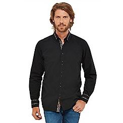Joe Browns - Black 'Splendid Split Collar' regular fit shirt