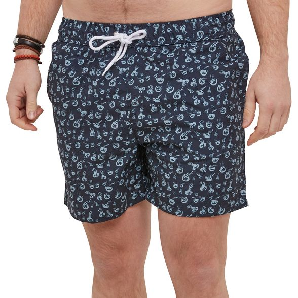 shorts funky Blue Browns swim Joe fEqICxg