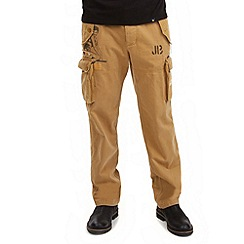 Joe Browns - Tan crazy cargo pants