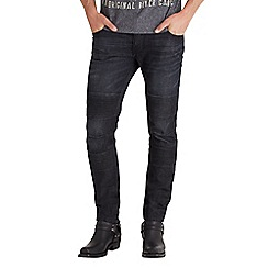 Joe Browns - Black burnout biker jeans