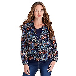 Joe Browns - Multi coloured funky floral blouse
