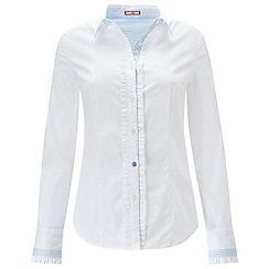 Joe Browns - White ruffle detail blouse