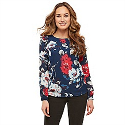 Joe Browns - Multicoloured quirky floral blouse